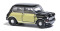 Busch 200115316 Austin Mini schwarz/korb N