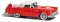 Busch 201108646 Ford Thunderbird rot H0