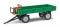Busch 210009200 Anhänger T4 Sitzbank grün