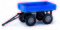 Busch 210009502 Anhänger/E-Karre blau