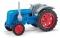 Busch 210010124 Traktor Famulus blau