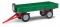 Busch 210010221 Anhänger T4 grün