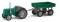 Busch 211006101 Traktor Famulus m. Anhänger