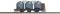 Busch 33501 Kohlenstaubwagen III TT