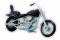 Busch 40151 US-Motorrad schwarz