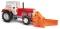 Busch 42846 Traktor ZT 303 Schneefräse
