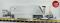 ESU 36050 Güterwaggon, Pullman IIm, Schotterwagen Set (MGB Fd 4852, FO Fd 4851, FO Fd 4853), grau, Epoche V/VI