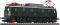 Fleischmann 431801 E-Lok 119 011 DB grun
