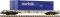 Fleischmann 825203 Containertrwagw. AAE+Norfolk