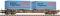 Fleischmann 825204 Containertragw. DSB+WB