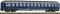 """Fleischmann 890903 Liegewagen 2. Kl., DB, Ep III-IV, """"TOUROPA"""""""