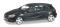 Herpa 038263-003 Mercedes-Benz A-Klasse, blacksaphir metallic