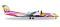 Herpa 529662 Bombardier Q400 Nok Air