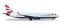 Herpa 530408 Boeing 737-800 British Airways (Comair)