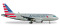 Herpa 530835 Airbus A319 American Airlines