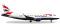 Herpa 531092 Embraer E170 British Airways Cityflyer
