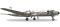 Herpa 556606 Douglas DC-6B, UAT -  Union Aéromaritime de Transport