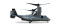 Herpa 558365 Bell/Boeing MV-22 Osprey U.S. Marine Corps - VMM-764 Moonlight