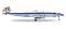Herpa 558488 Lockheed L-1049H S. Constellation SCFA / Breitling
