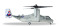 Herpa 558549 Bell/Boeing MV-22 Osprey U.S. Marine Corps - VMM-365 Blue Knights