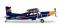 Herpa 580304 Pilatus PC-6 Turbo Porter The Flying Bulls