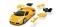 Herpa 80657060 3D Lamborghini std. gelb