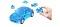 Herpa 80657071 3D Mini Cooper transp. blau