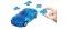 Herpa 80657085 3D BMW Z4 transp. blau
