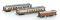 Lemke H22103 3tlg. CIWL Set C-M-EX Schlaf-/Pack-/Speisewg. Ep.I
