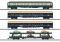 Märklin 42999 MHI/Wagenset Autozug DB(4 Wagen)