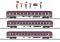 Märklin 43947 $$ Fanzug-Wagenset Euro Express