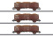 Märklin 46019 Güterwagen-Set, 3 Wagen Typ Eo, NS,Ep.IV