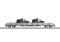 Märklin 47068 Niederbordwagen mit 2 Serval, SBB, Ep. V