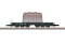 Märklin 82342 Type SSym 46 Heavy-Duty Flat Car with a Load of an Insulated Hood