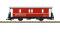LGB 34554 Gepäckwagen RhB D2 Ep V
