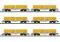 Märklin T15075 Güterwagen-Set Abraumzug