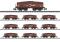 Märklin T15449 Display mit 10 Selbstentladewagen Erz Id