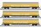 Märklin T15874 Güterwagen-Set der Post, SBB