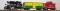 Piko 37106 G-White Pass   & Yukon Starter Set (Boxcar, Caboose)    & Analog Sound