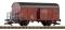 Piko 37945 G-Ged.Güterwagen  Expressgut DR IV m.Bb.