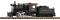 Piko 38205 G-Dampflokomotive mit Tender Mini-Mogul PRR, Analog Sound