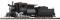 Piko 38245 G-Dampflokomotive mit Tender B&O 0-6-0 Camelback, Sound