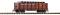Piko 38724 G-Hochbordwagen PRR m. Rohrladung