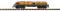 Piko 38735 G-Aussichtswagen D&RGW mit Bänken