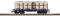 Piko 38741 G-Rungenwagen B&O mit Ladung