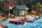 Piko 62103 Bootshaus Am Waldsee