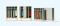 Preiser 17188 Garderobeneinrichtung:Spinde. 4 Elemente mit verschiedenen Türen und Untergestellen. Bausatz