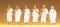 Preiser 68206 1:50 Mekka-Pilger