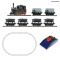 ROCO 31035 Analogue start set: Light railway steam locomotive