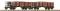 ROCO 34589 Set:Offener Güterwagen+Schotterbel.